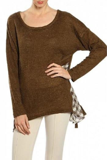 Shoptiques Product: Brown Sweater - main