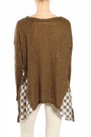 A'reve Brown Sweater - Front full body