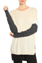 A'reve Colorblock Knit Tunic - Product Mini Image