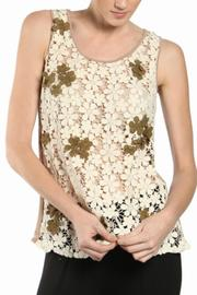A'reve Flower Lace Top - Product Mini Image