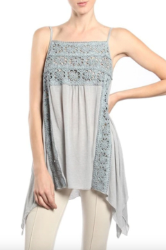 A'reve Crochet Tunic Camisole - Product List Image