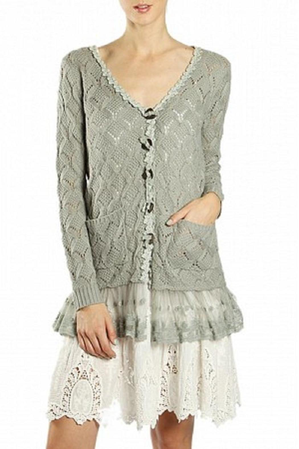 A'reve Grey Lace Cardigan from San Francisco by HarajukuSF ...