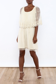 A'reve Ivory Capel Lace Dress - Front full body