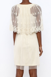 A'reve Ivory Capel Lace Dress - Back cropped