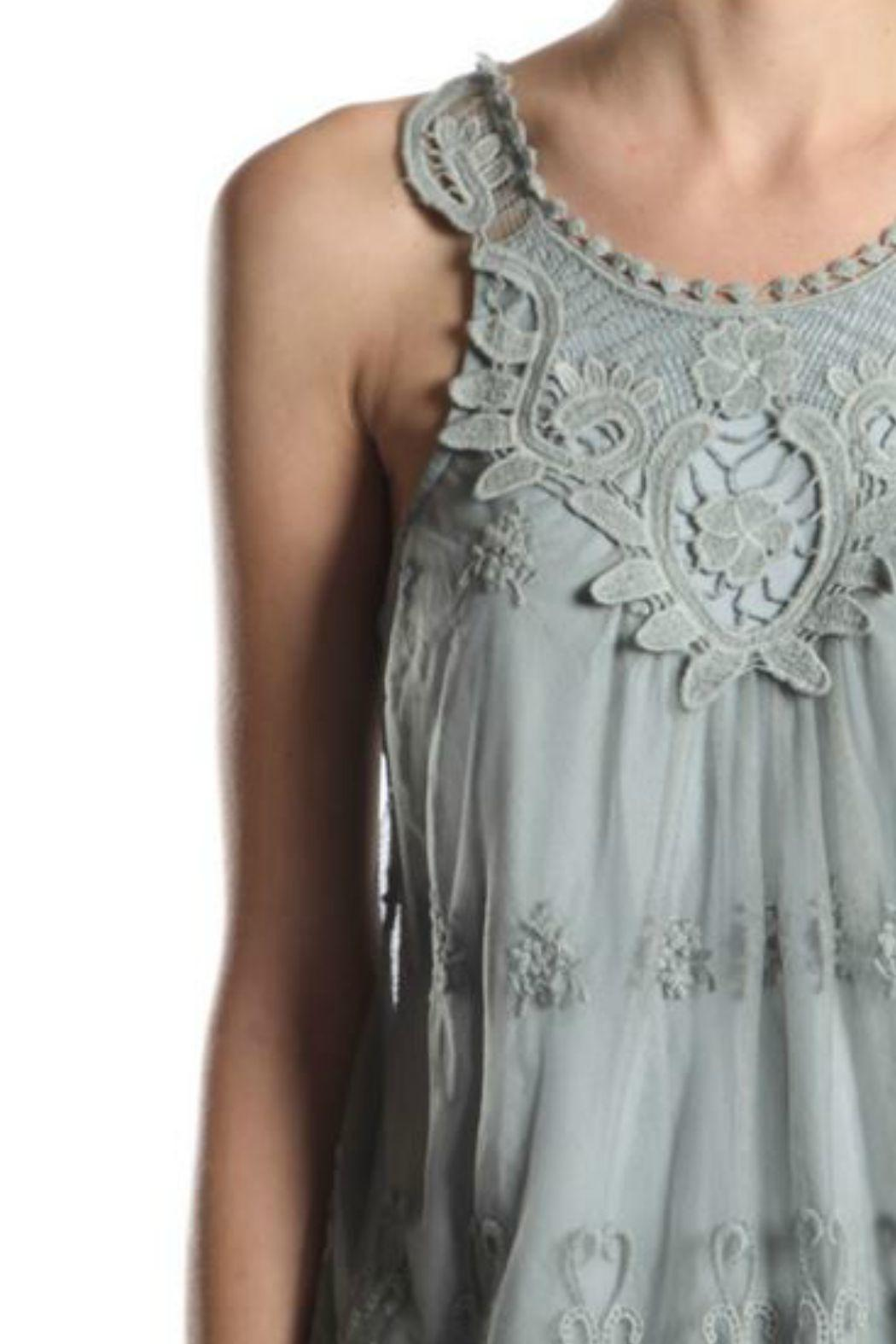 A'reve Lace Sleeveless Top - Side Cropped Image