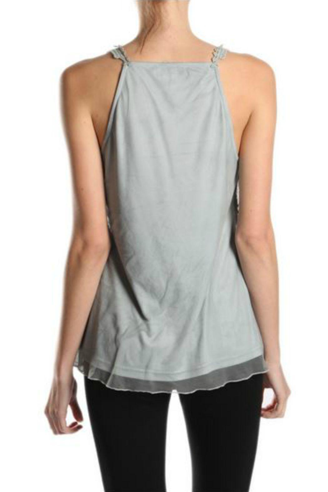 A'reve Lace Sleeveless Top - Front Full Image