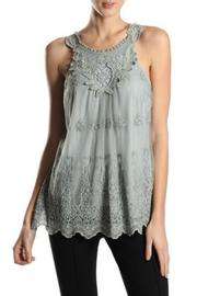 A'reve Lace Sleeveless Top - Product Mini Image