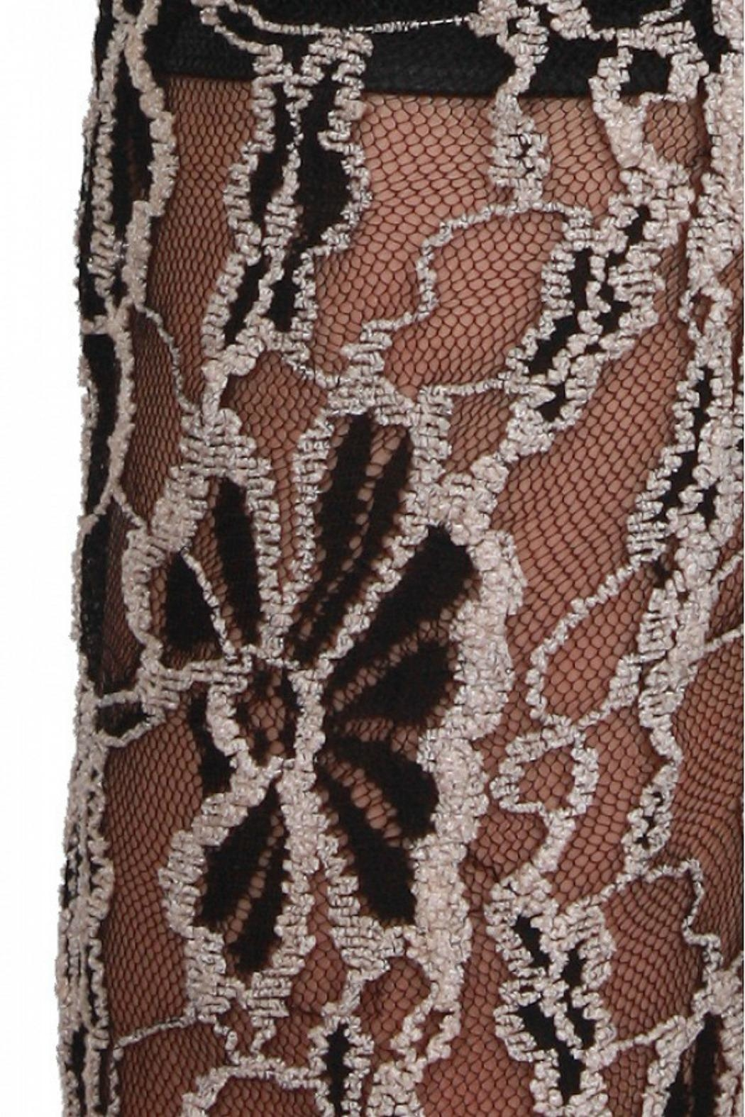 A'reve Sheer Floral Lace - Side Cropped Image