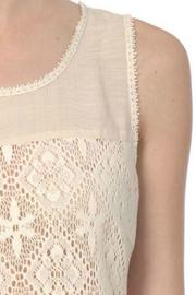 A'reve Sleeveless Lace Top - Side cropped
