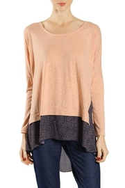 A'reve Split Print Tunic - Front cropped