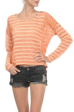 A'reve Striped Longsleeve Lace - Product List Image
