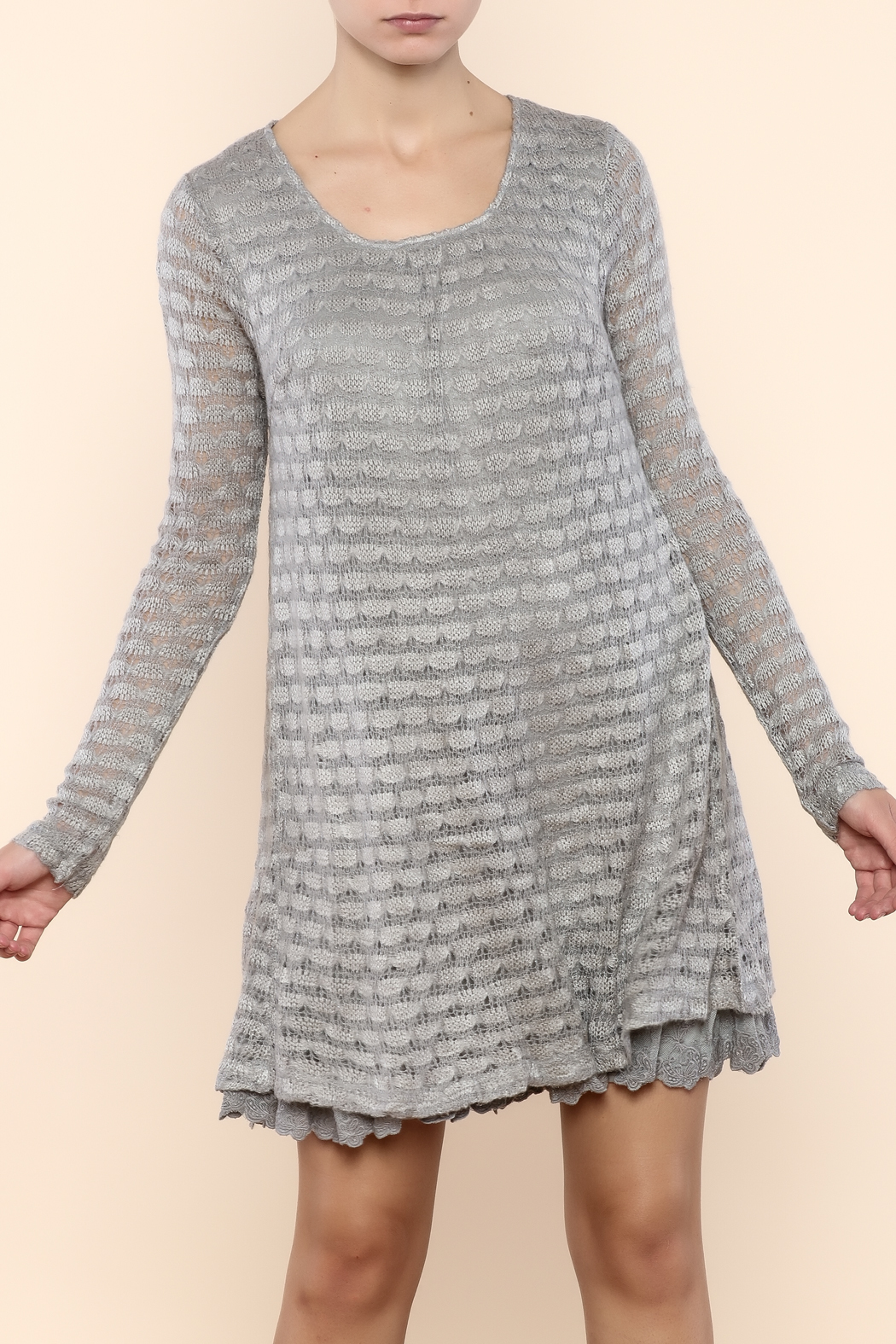 A 39 reve sweater dress from new hampshire by solsistar for Sweater over wedding dress