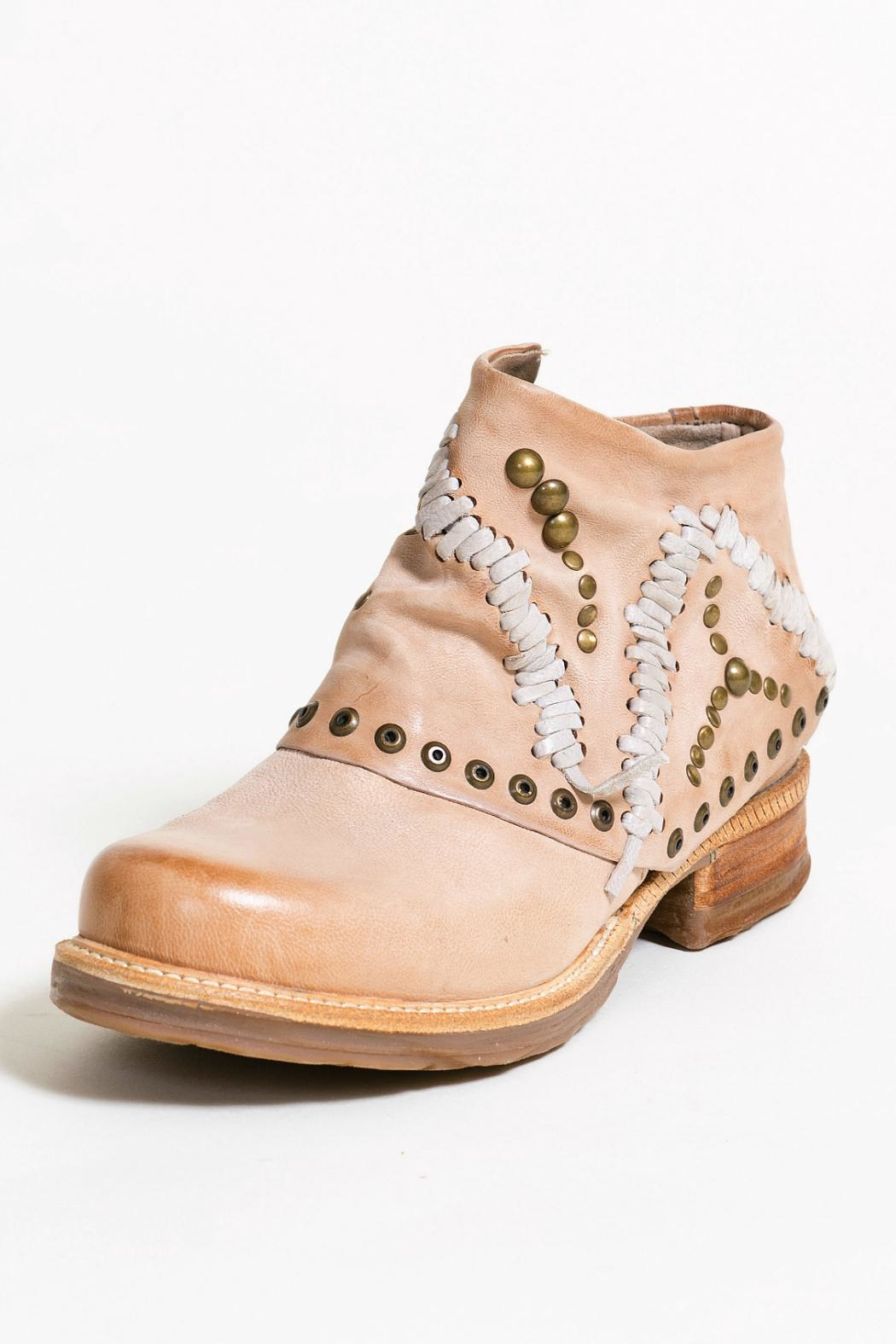 A.S. 98 Brown Bootie - Side Cropped Image