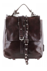 A.S. 98 Buckle Studded Backpack - Front cropped