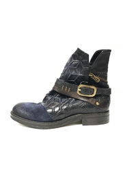 A.S. 98 Embossed Leather Boot - Product Mini Image