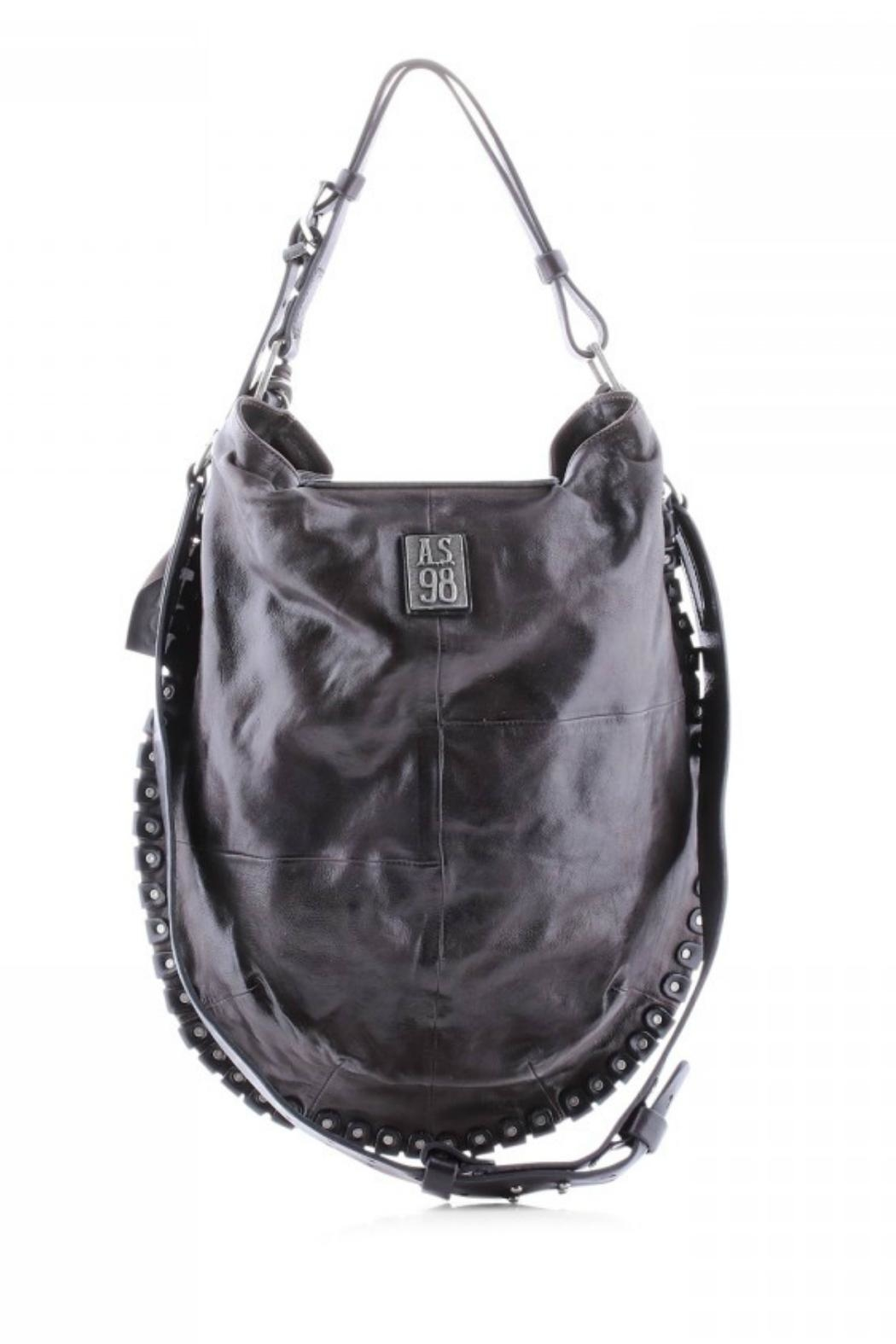 A.S. 98 Leather Rivet Crossbody - Side Cropped Image
