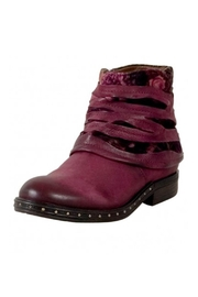 A.S. 98 Staveley Leather Booties - Front full body