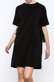A Shappe Black Ruffled Dress - Product Mini Image