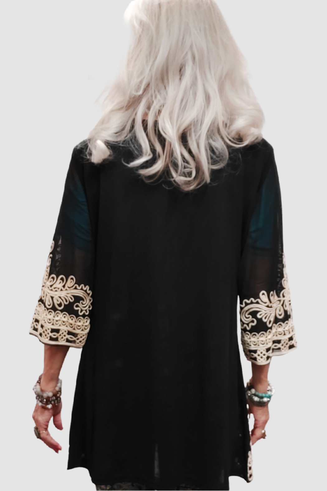 Step in Style A Stylish Ethnic Beauty of a Tunic - Side Cropped Image