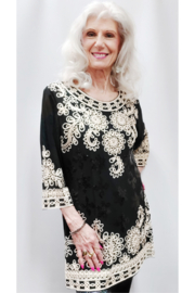 Step in Style A Stylish Ethnic Beauty of a Tunic - Front full body