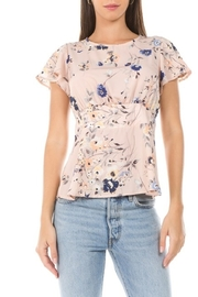 Allie Rose A Touch Of Spring top - Front cropped