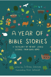 Barbour A Year of Bible Stories - Front cropped