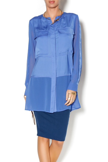 Shoptiques Product: Cobalt Blue Tunic - main