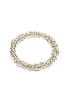 Gallery 3 Silver Lining Bangle - Alternate List Image