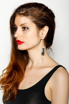 Shoptiques Product: Vintage Glass Earrings