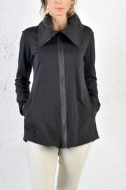 gr.dano Cowl Neck Jacket - Front cropped