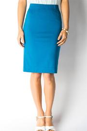 Downeast Basics Ponte Pencil Skirt - Front cropped