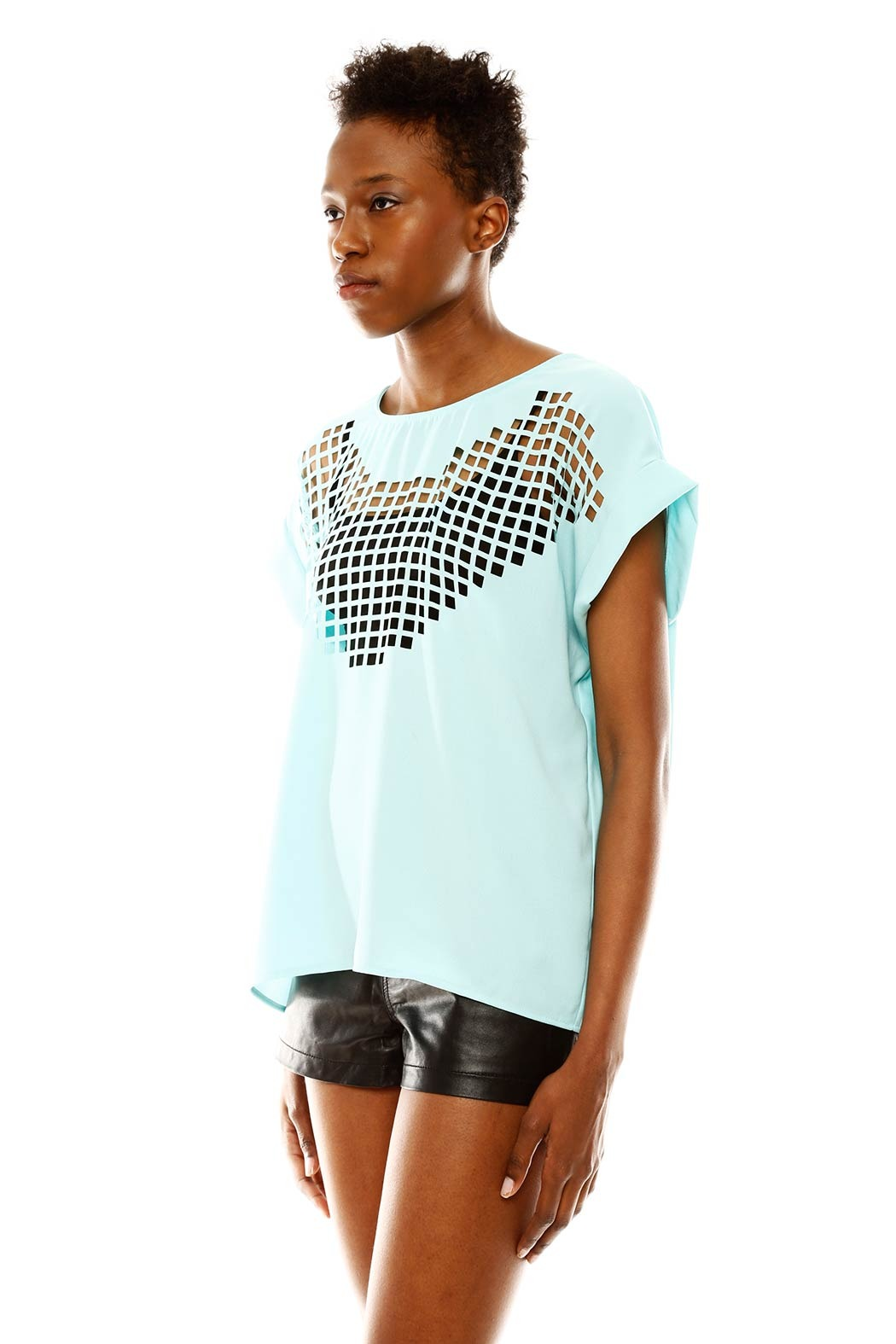 Maude Cutout Top - Side Cropped Image