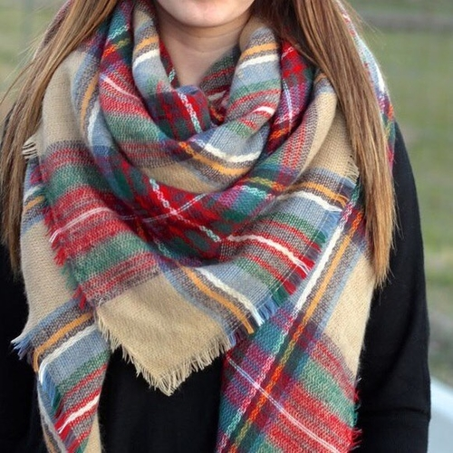 Unknown Factory The Rachel Blanket Scarf - Main Image