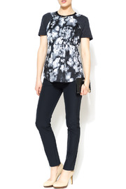 Rebecca Taylor Ghost Flower Top - Front full body