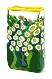 Glass Daisy Vase - Product Mini Image