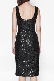 French Connection Cosmic Sparkle Dress - Back cropped