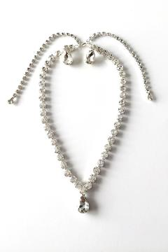 Shoptiques Product: Teardrop Necklace Set