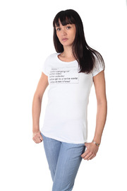 Remarque Barbie Google Tee - Side cropped