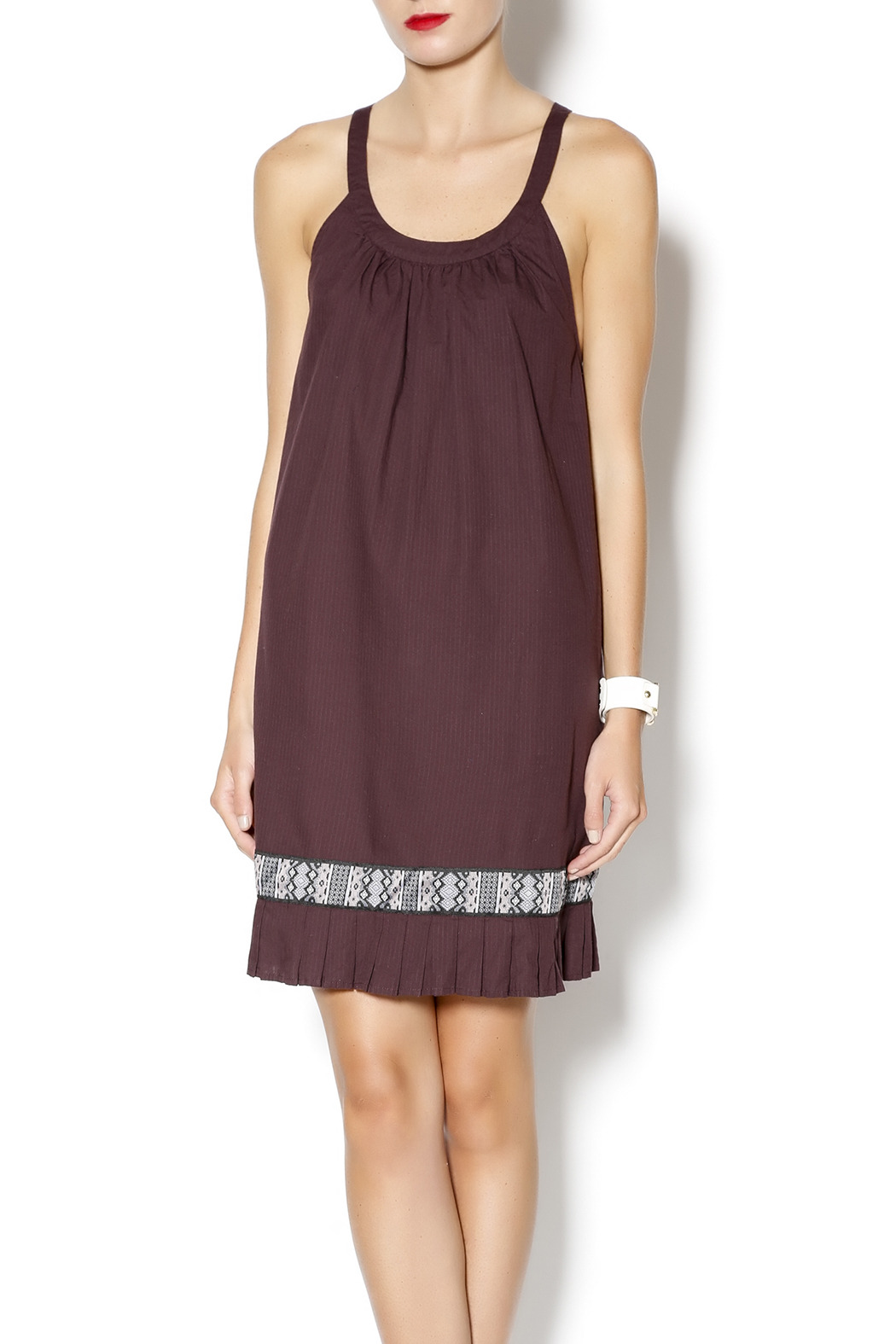 Free People Native Sun Shift Dress - Front Cropped Image