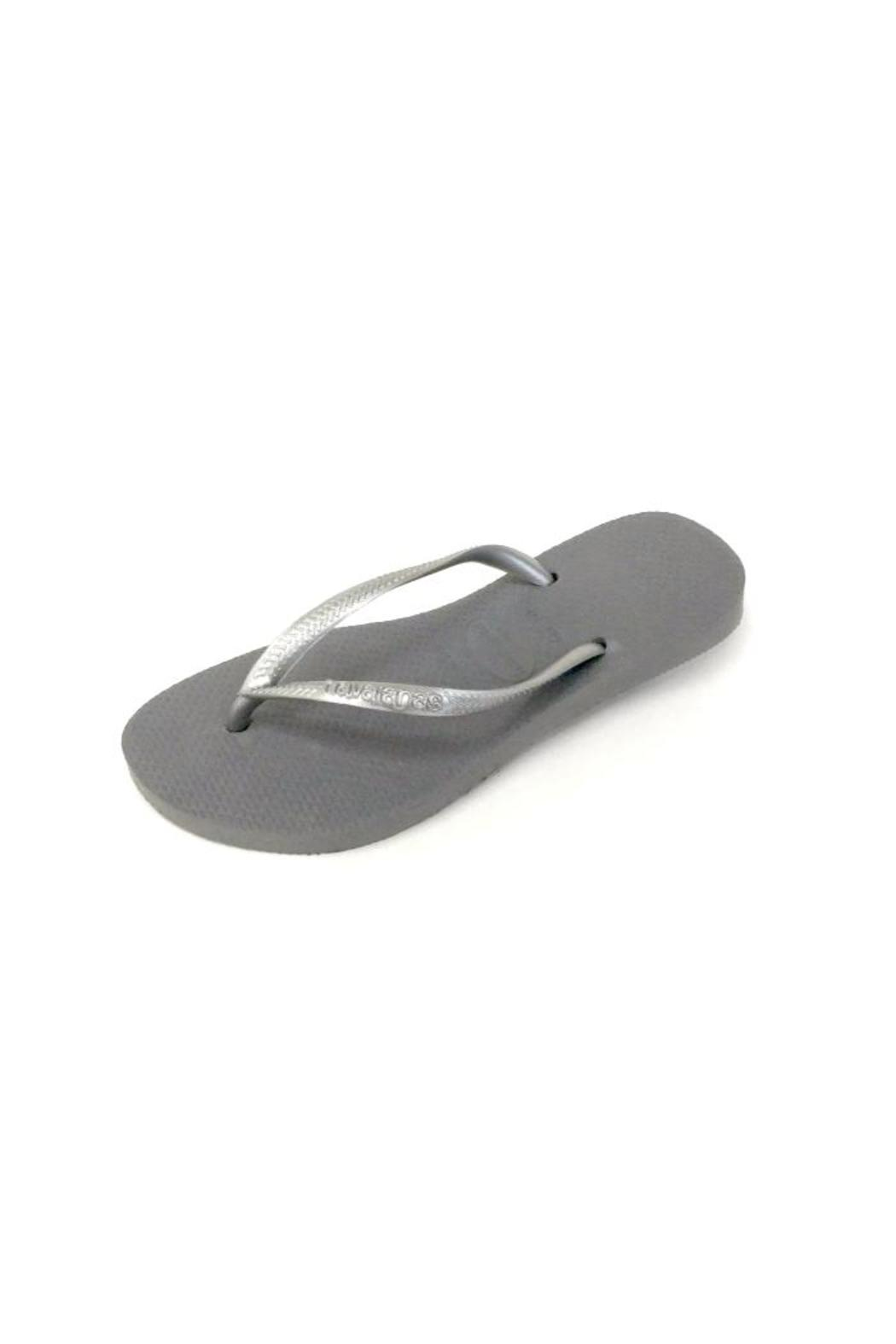 7d45e775a552a1 Havaianas Havaiana Slim Gray from Santa Monica by Twist — Shoptiques