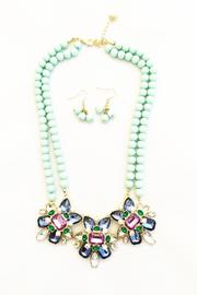 Bling Bling Sisters Mint Pearl Necklace - Product Mini Image