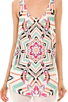 Shoptiques Product: Printed Racerback Tank