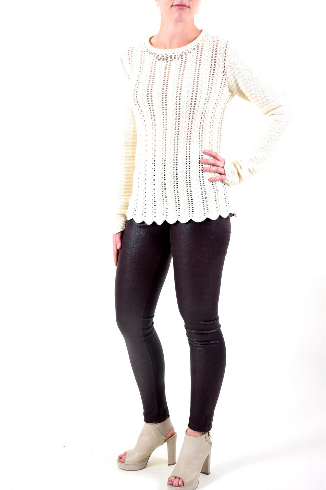 Twin Set Simona Barbieri Cable Knit Sweater From Fredericksburg By