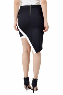 Shopettes Black Asymmetrical Skirt - Alternate List Image