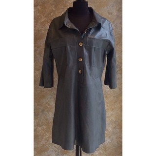 Shoptiques Product: Leather Dress