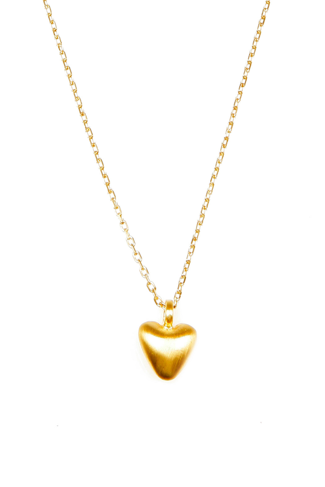 Satya Beating Heart Necklace - Front Cropped Image