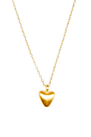 Satya Beating Heart Necklace - Front cropped