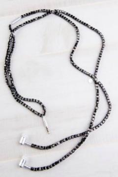 Shoptiques Product: Ferberite Earbud Necklace