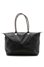 J Medium Nylon Weekender Tote - Front cropped
