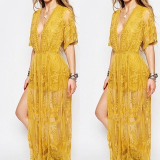 Unknown Factory Lace Maxi Dress - Instagram Image